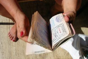 Travel documents necessary-passport and visa